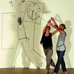 GRENZGÄNGE Interdisziplinäre künstlerische Tanzimprovisation, ada-Studio Berlin (2011)